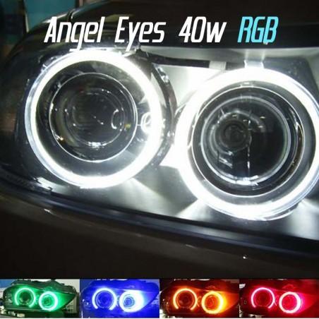 Pack Angel Eyes Led RGB H8 40w BMW E39 E53