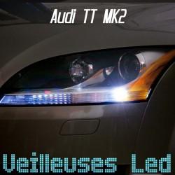 Pack Veilleuses led pour Audi TT mk2