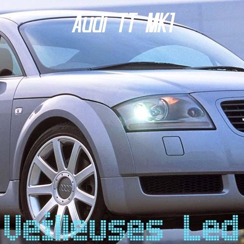 Pack veilleuses à leds pour audi A1 A3 A4 A5 A6 A7 A8 Q3 Q5 Q7