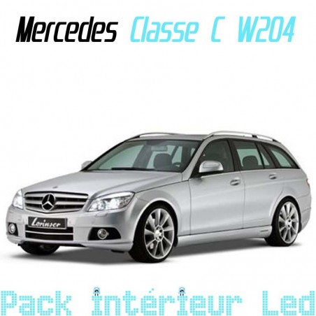 Pack intérieur led pour Mercedes Classe C W204 break