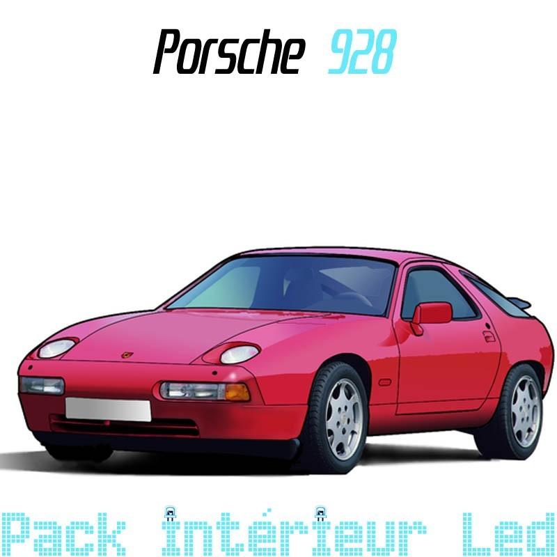 Pack Full Led intérieur Porsche 928