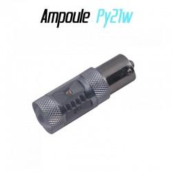 Ampoule Led PY21W Bau15s - ORANGE (CREE-30w)