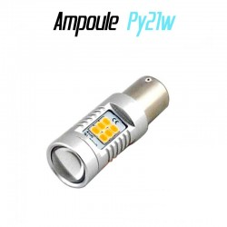 Ampoule Led PY21W Bau15s - ORANGE (21-SMD-3535)