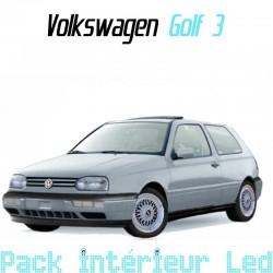 Pack intérieur led pour Volkswagen Golf 3