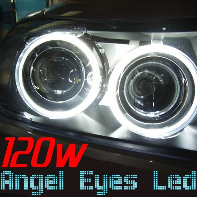 H8 Angel Eyes 120w Blanc Xenon BMW E60 E63 E64 E70 E71 E82 E94 E87 E90 E91 E92 E93