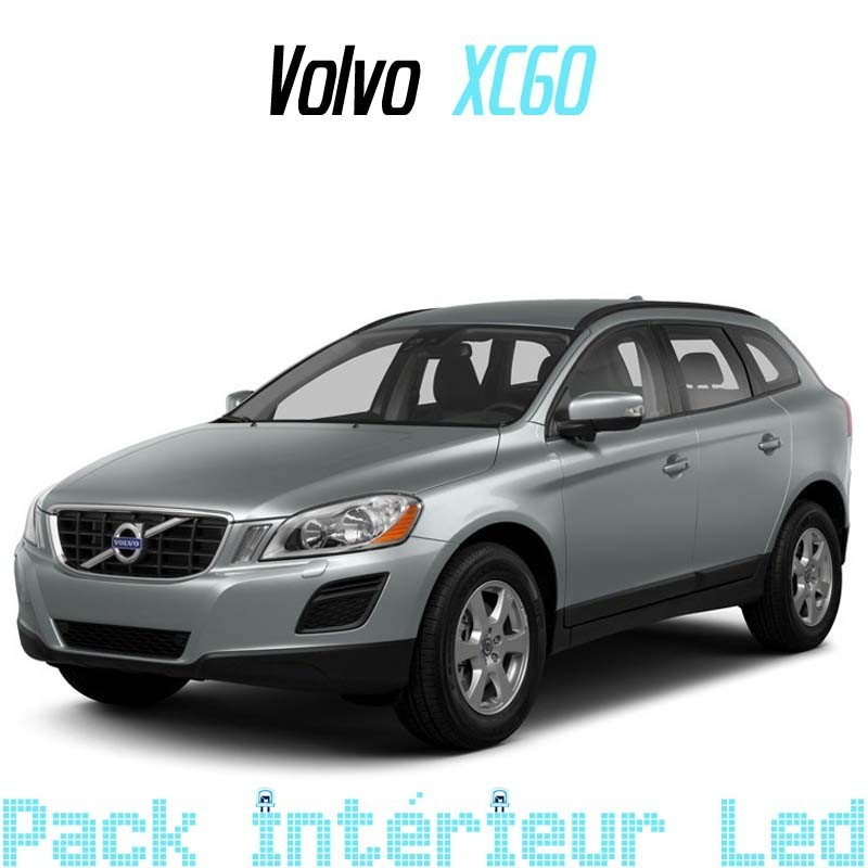 pack int rieur led pour volvo xc60 led auto discount. Black Bedroom Furniture Sets. Home Design Ideas