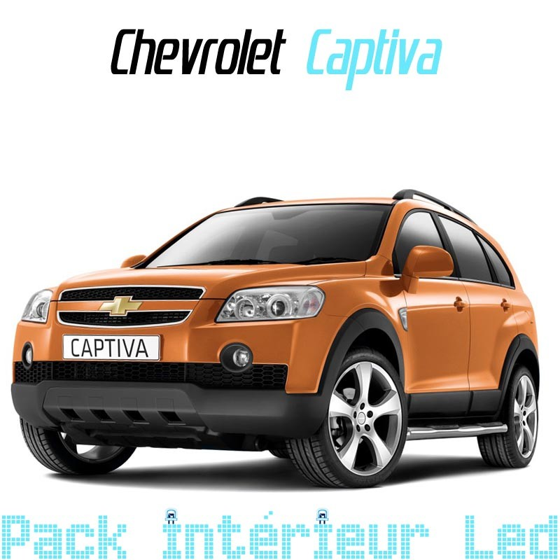 pack full led intrieur extrieur chevrolet captiva