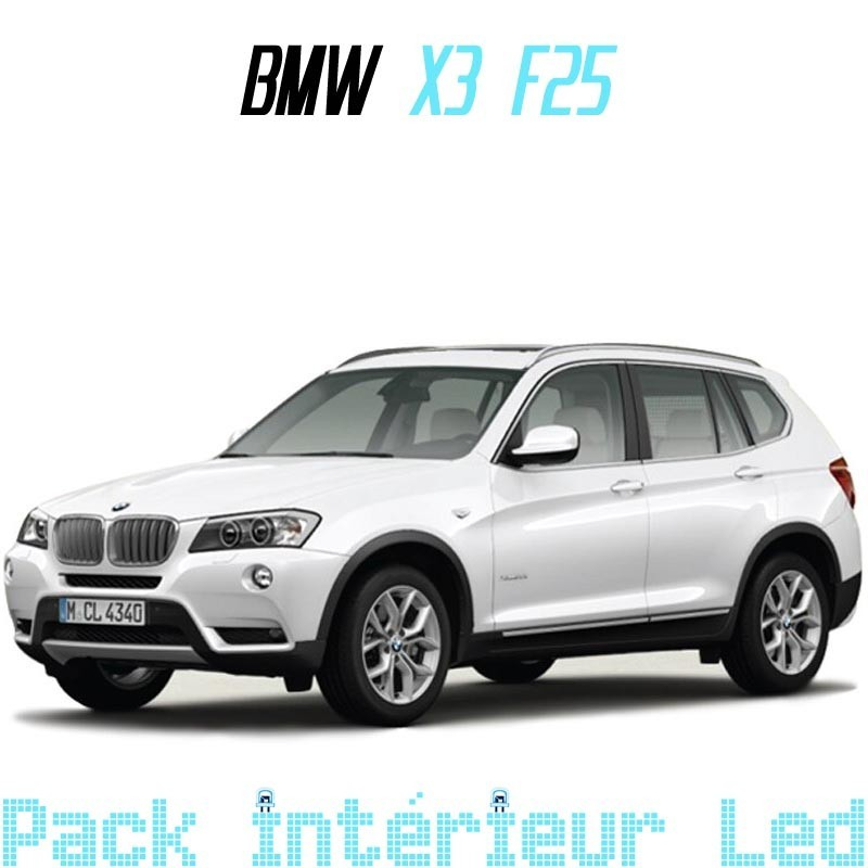 Pack Led interieur BMW X3 F25