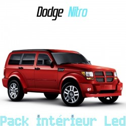 Pack Full Led Intérieur Extérieur Dodge Nitro