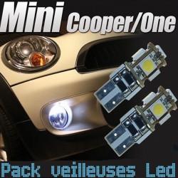 Pack ampoules veilleuses led pour Mini