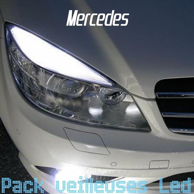 Pack veilleuses à led pour Mercedes Classe C W204