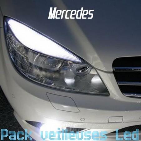 Pack veilleuses led pour Mercedes Classe C W204 C204 S204