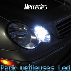Pack veilleuses led pour Mercedes SLK