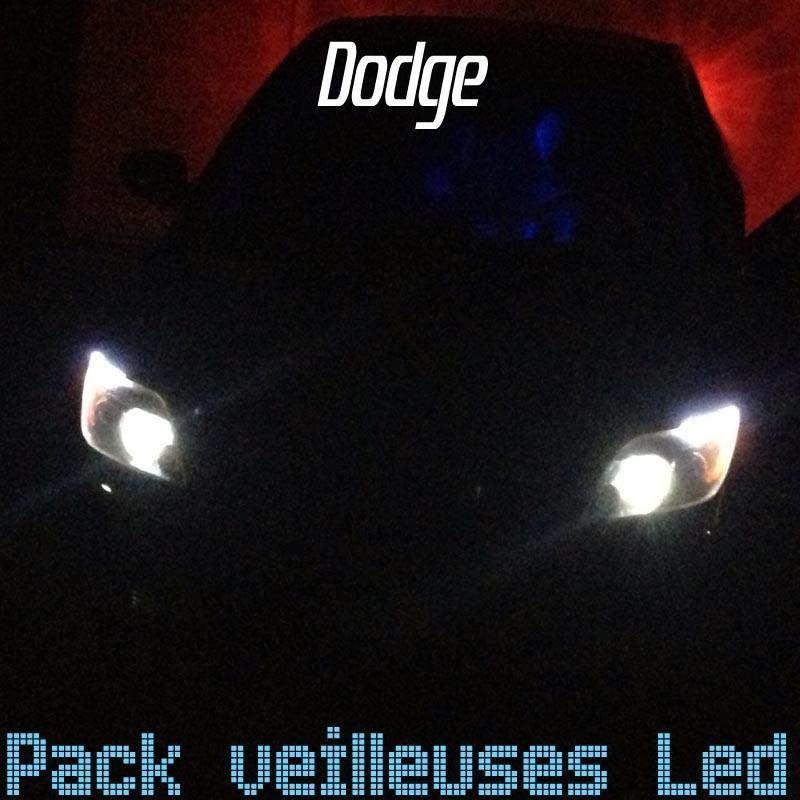 Pack veilleuses led pour Dodge