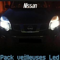 Pack ampoules veilleuses led pour Nissan