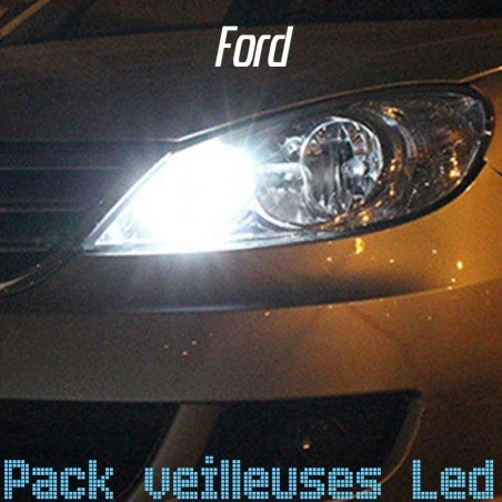 Pack ampoules veilleuses led pour Ford