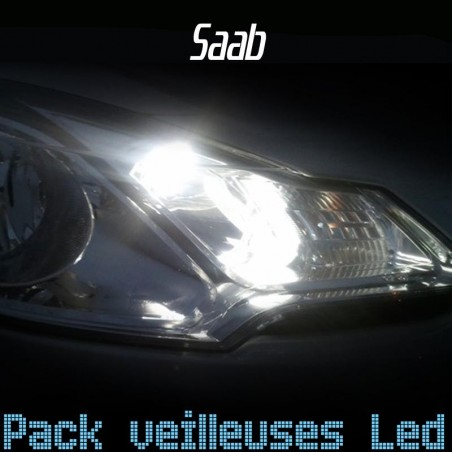 Pack veilleuses led pour Saab