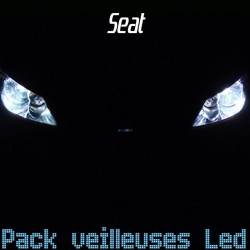 Pack veilleuses led pour Seat