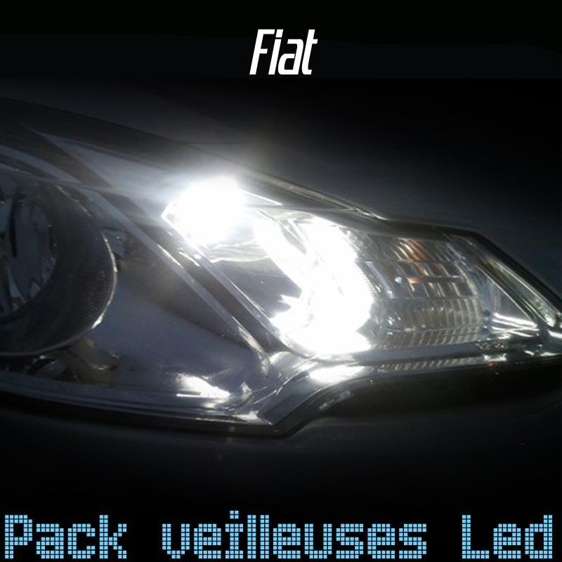 Pack veilleuses leds w5w pour Fiat