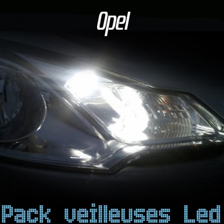 Pack veilleuses led pour Opel