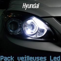 Pack ampoules veilleuses led pour Hyundai