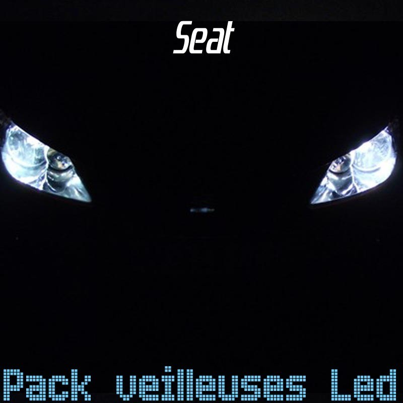 Pack veilleuses leds w5w pour Seat