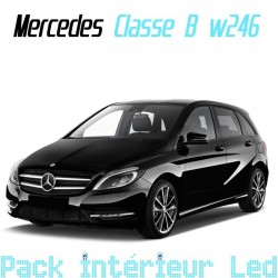 Classe b w246 led auto discount for Interieur mercedes classe b