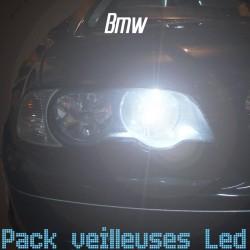 Pack veilleuses led pour BMW serie 1 2 3 5 6 7 X1 X3 X5 X6