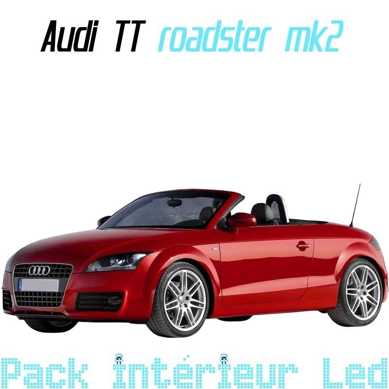 Pack Led intérieur Audi TT Roadster MK2