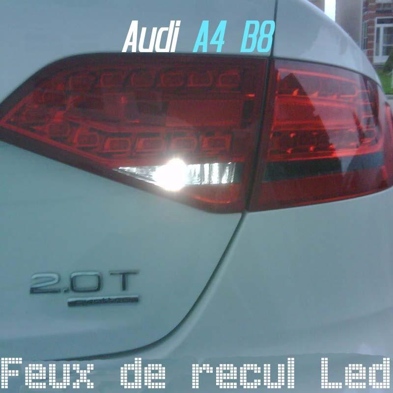 Pack feux de recul led pour Audi A4 B8