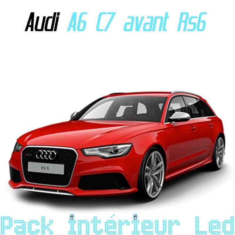 pack intrieur led audi a6 c7 break rs6