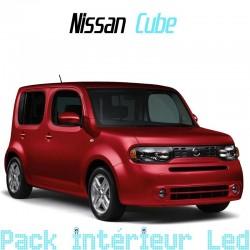 Pack intérieur led pour Nissan Cube