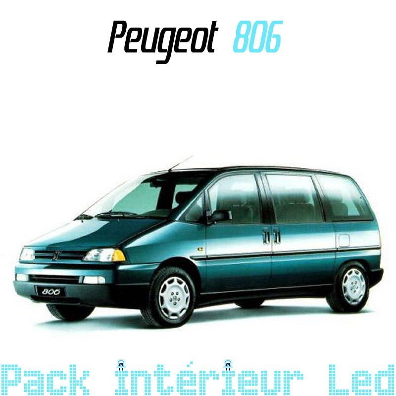 Pack int rieur ext rieur led peugeot 806 led auto discount for Peugeot 806 interieur