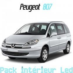 Pack intérieur pour led Peugeot 807
