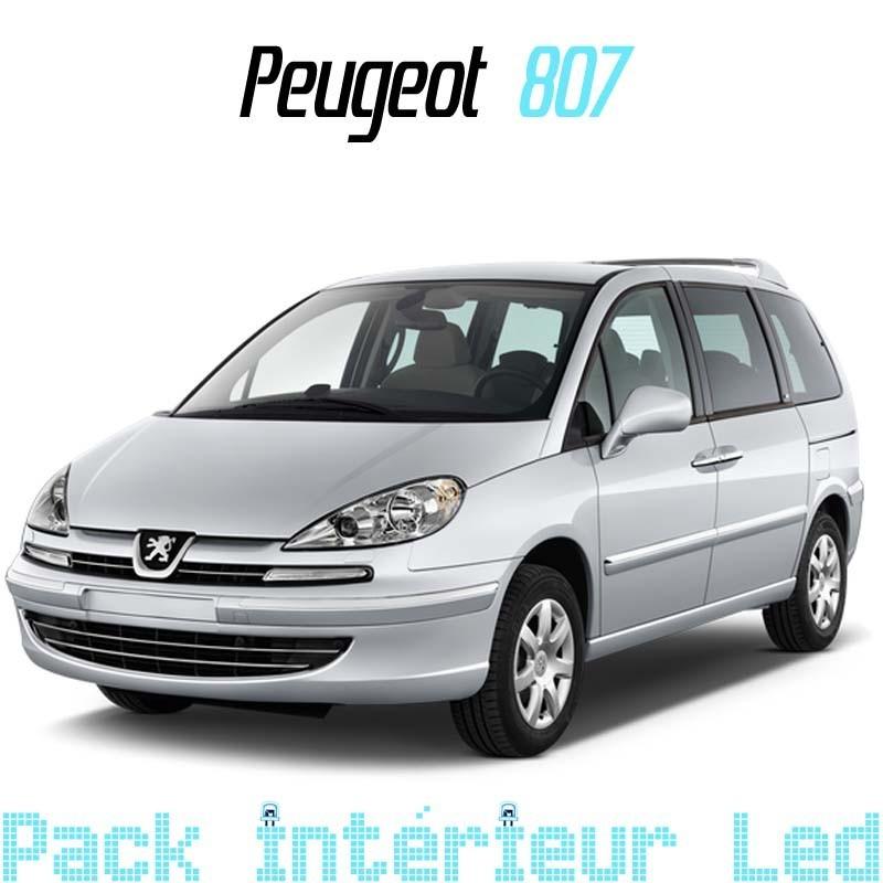 Pack intérieur extérieur led Peugeot 807