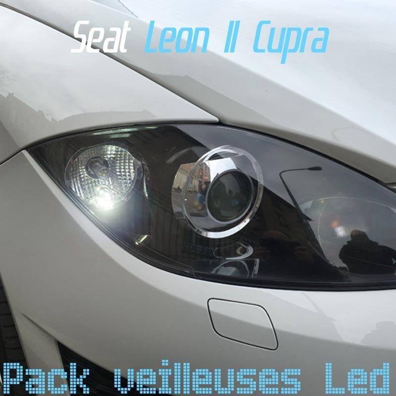 Pack veilleuses led pour Seat Leon Cupra