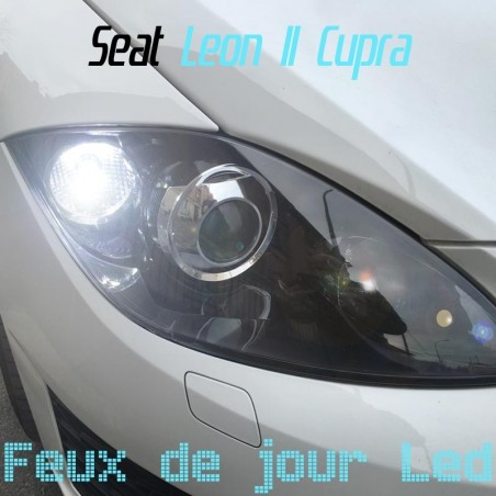 Pack feux de jour Led pour Seat Leon II Cupra