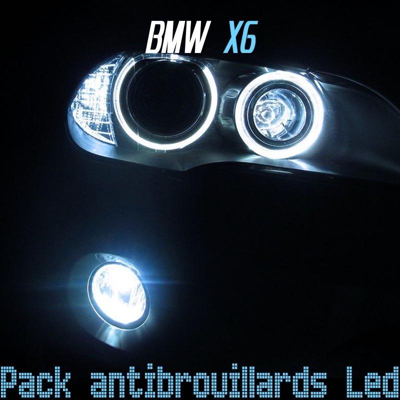 Pack antibrouillards led pour bmw X6
