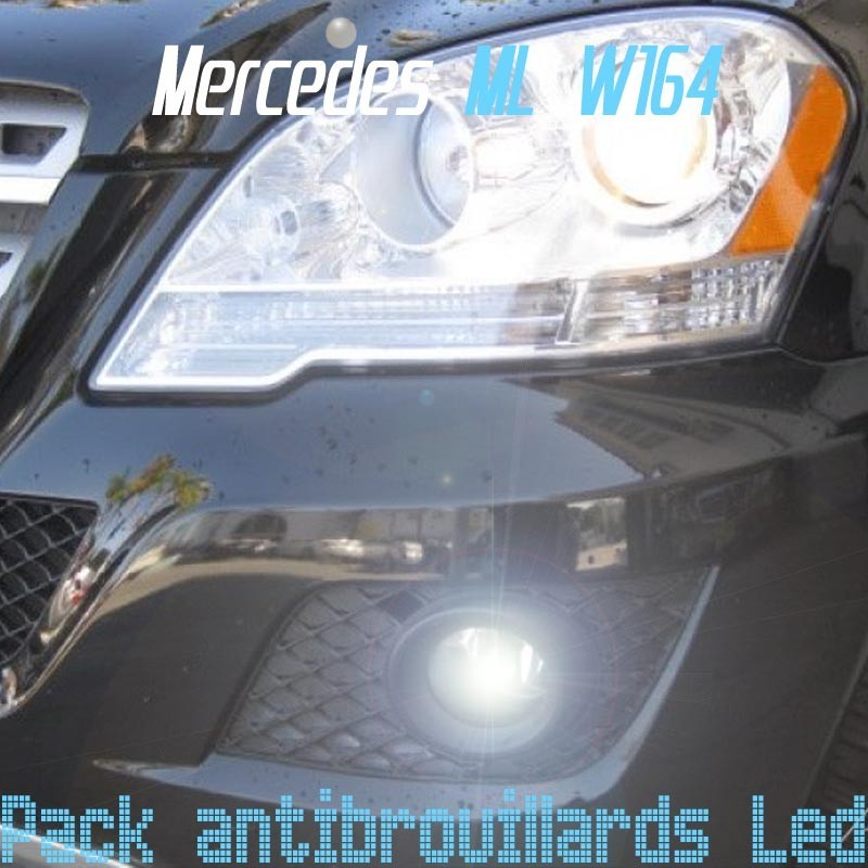 Pack antibrouillards led pour Mercedes ML W164