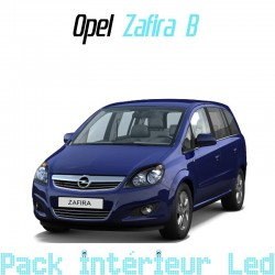 Pack intérieur led pour Opel Zafira B