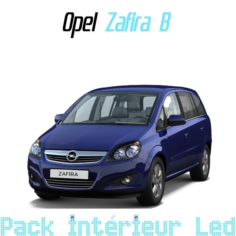 pack int rieur led pour opel zafira b led auto discount. Black Bedroom Furniture Sets. Home Design Ideas