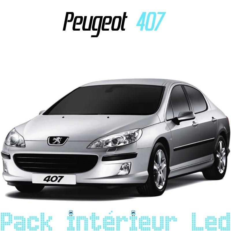 Pack led Intérieur Extérieur Peugeot 407