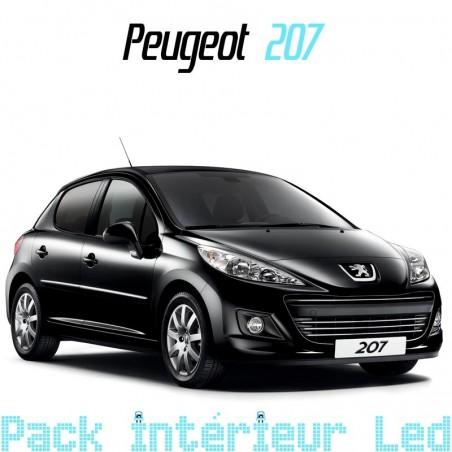 Pack intérieur led pour Peugeot 207