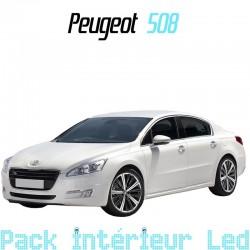 Pack intérieur led pour Peugeot 508