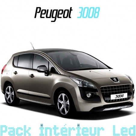 Pack intérieur led pour Peugeot 3008