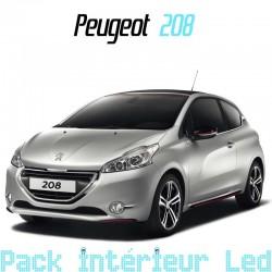 Pack intérieur led pour Peugeot 208