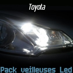 Pack veilleuses led pour Toyota