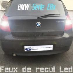 Pack feux de recul led pour BMW Série 1 phase 1 (E81 E82 E87 E88)