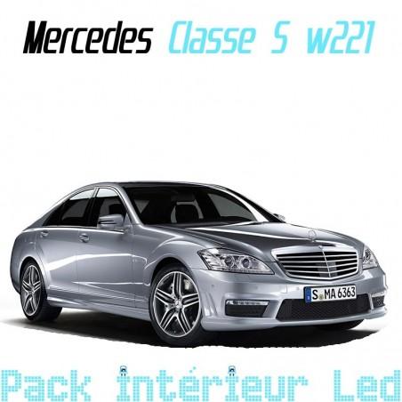 Pack intérieur extérieur led pour Mercedes Classe S W221