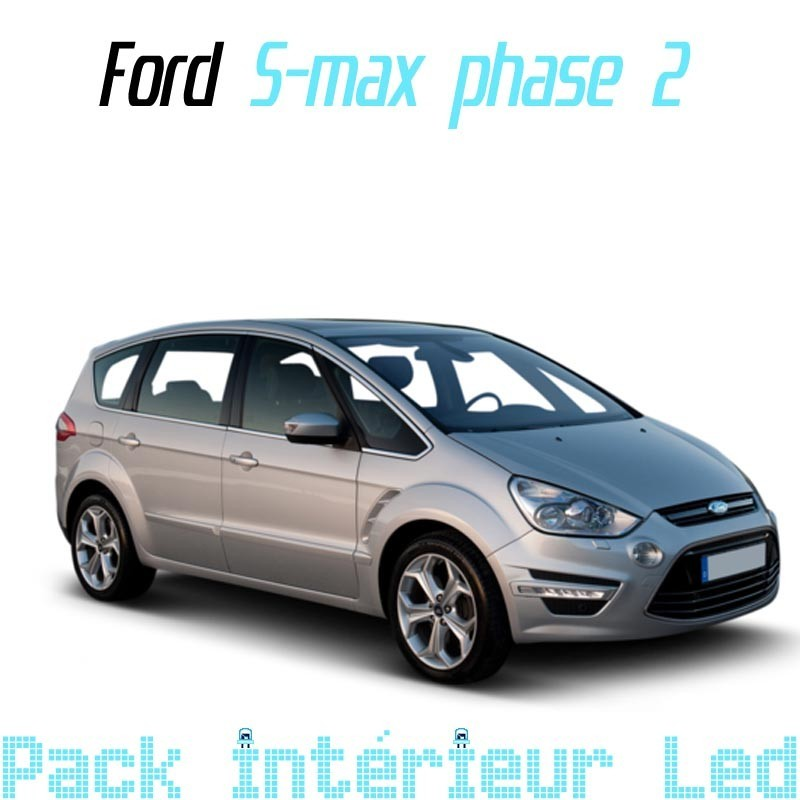 Pack Full Led interieur/exterieur Ford Smax Ph2 09-13